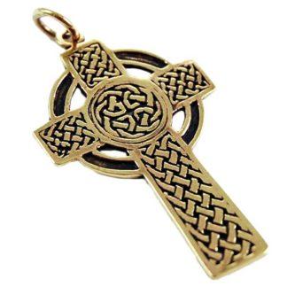 Croix celtique bronze
