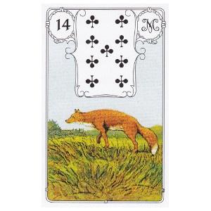 Le renard petit lenormand