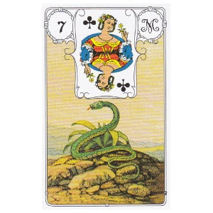 serpent petit Lenormand