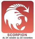 pierres & minéraux scorpion