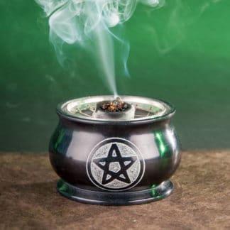 encensoir pentagramme