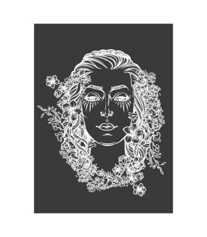 La déesse au quotidien dessin