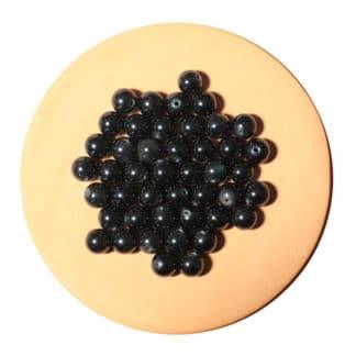 Perle d'obsidienne œil céleste