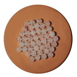 Perle de quartz rose